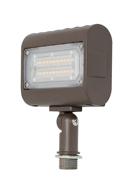westgate led outdoor flood light knuckle mount security