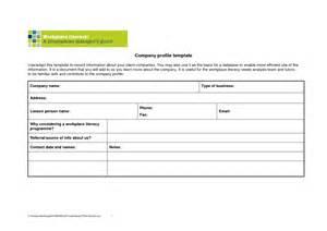 company profile template microsoft publisher doc 763370 free company profile template word company