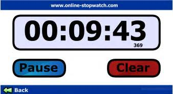 Online Clock Free Online Timer For Non Ios Users Browser Based