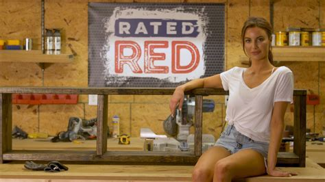 Rated Red: Red Hot Buildin?: Entryway Bench