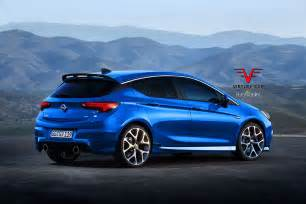 Opc Opel 2017 Opel Astra Opc Gets Rendered Proves Hatches Are