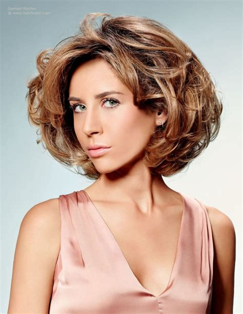 short and medium hair styles pictures short layered hairstyle with volume movement and body