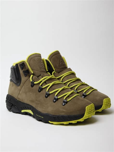 nike boot for nike mens zoom meriwether hiking boot in green for lyst