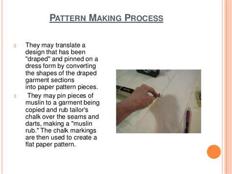 pattern making in garment industry flat pattern