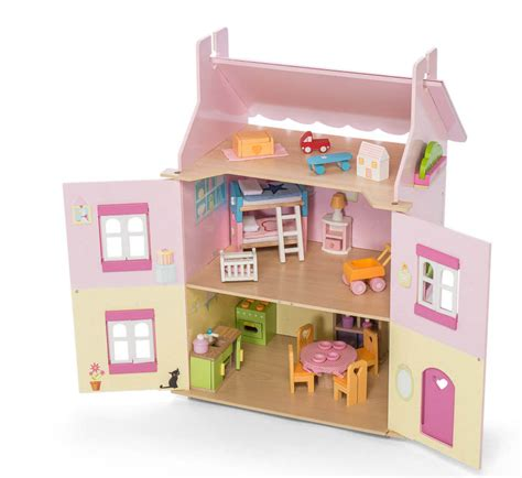 my first dolls house le toy van daisylane my first dream doll house