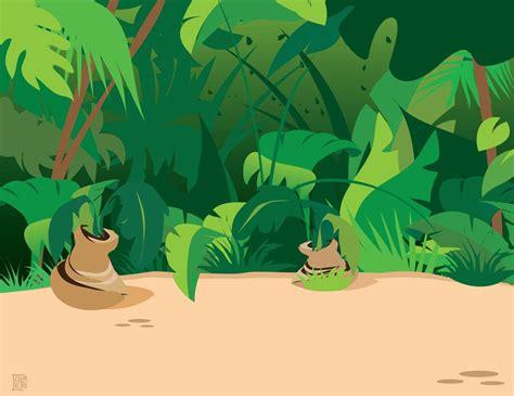 jungle clip jungle plants