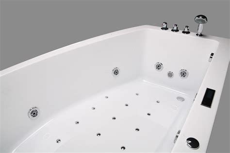 Large Whirlpool Bath 2 Person Bathtub Indoor Tub Large