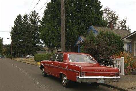 1966 rambler car old parked cars 1966 rambler classic 770