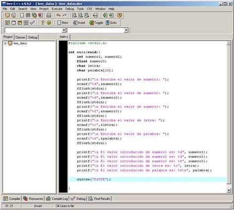 funcion para leer cadenas en c tipos de datos en c observatorio tecnol 243 gico