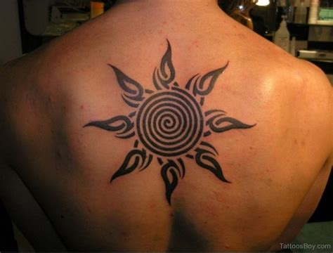 sun back tattoo designs designs pictures a category wise