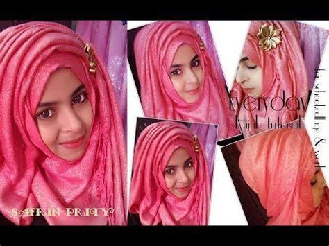 criss cross hijab tutorial  niqab easy criss cross