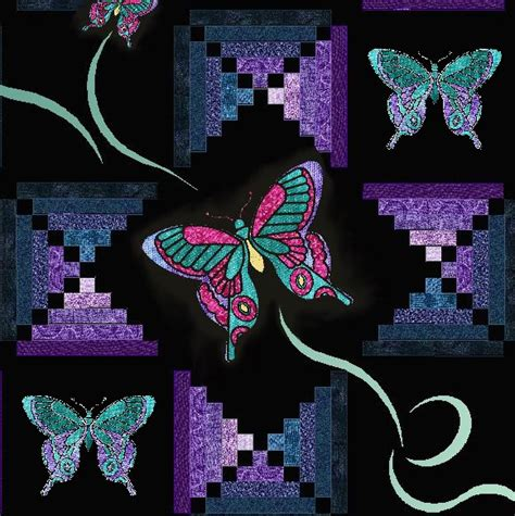 Patchwork Butterfly Pattern - http www theozmaterialgirls newsimages more