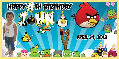 birthday tarpaulin layout design psd birthday tarpaulin angry birds theme template by