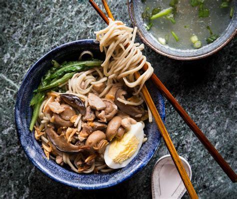 mie ayam jamur mushroom chicken noodle indonesian food noodles with chicken and mushroom mie ayam jamur