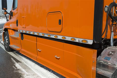integrated tractor trailer sleeper cab bolt custom trucks