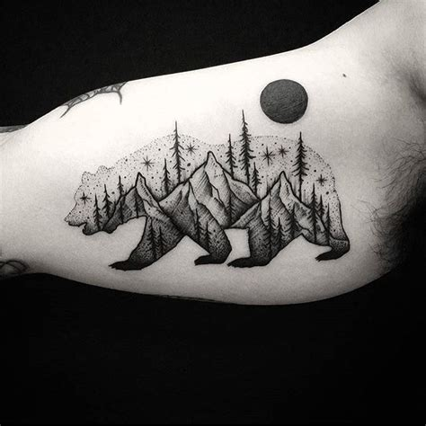 black bear tattoo designs best 25 tattoos ideas on tree tatto