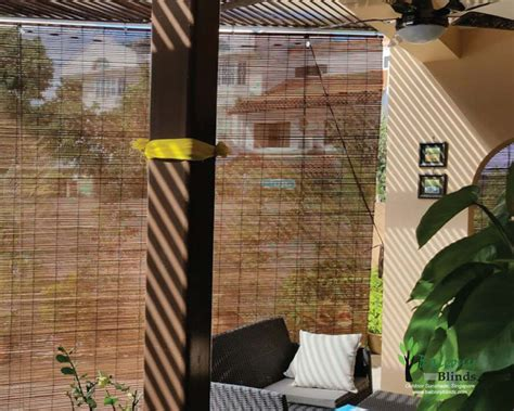 bamboo curtains for balcony outdoor bamboo chick blinds gallery balconyblinds