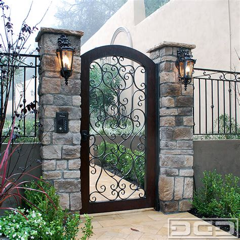 Custom Door And Gate by Architectural Gates 03 Custom Designer Pedestrian Gate