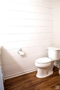 Installing Shiplap Walls The Easiest Way To Install Shiplap Wood Plank Walls In