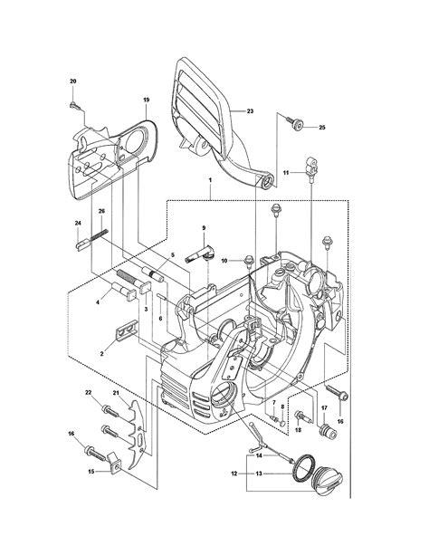 husqvarna 435 parts diagram husqvarna model 435 chainsaw gas genuine parts