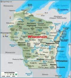 wisconsin map wisconsin maps flags