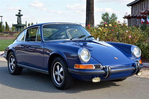 vintage porsche blue blue 1970 porsche 911e coupe buy classic volks