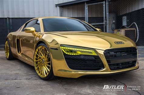 audi r8 gold atlanta hawks dennis schr 246 der goes all gold with his audi