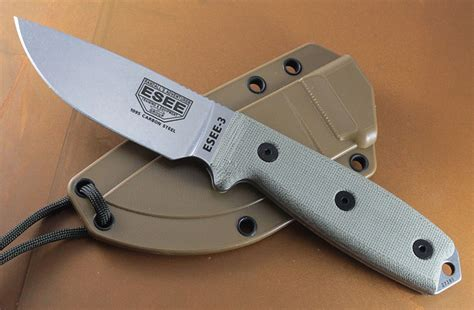 esee knifes esee 3 knife review