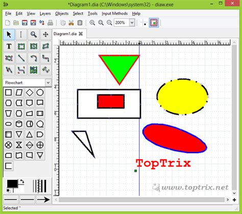 drawing program free free diagram flow chart drawing software toptrix