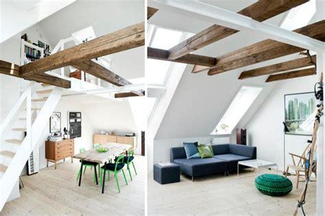 decoracion con vigas de madera un duplex con vigas de madera deco puntosuspensivo