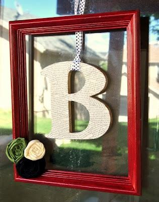 Letters For Front Door Framed Letter For Front Door How Easy And Oh My Diy Framed