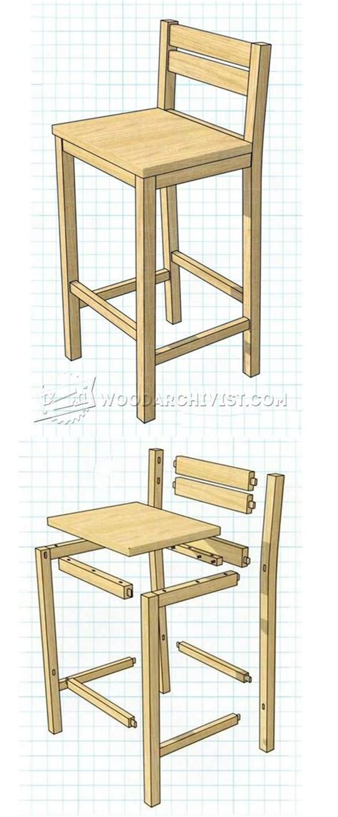 Rustic Bar Stool Plans by 17 Best Ideas About Pallet Bar Stools On