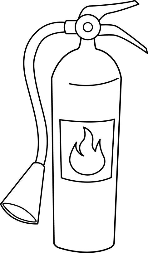 fire extinguisher  art  clip art