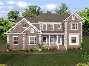 stone colonial house plans brick house plans with photos