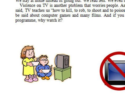 Much Television Essay by Disadvantages Of Much