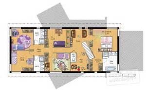 maison 224 ossature bois 2 d 233 du plan de 224