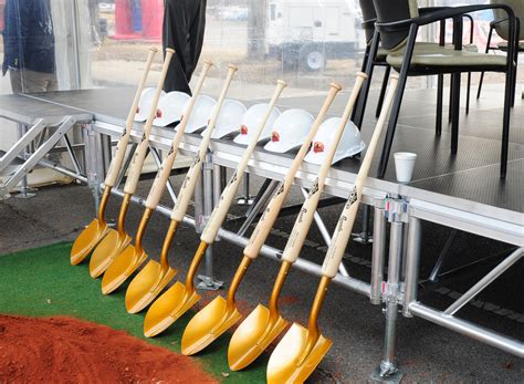 ground broken for 28 000 ground has been broken on the air and