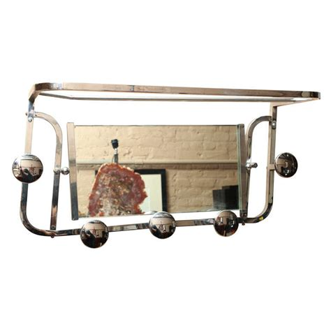 Hat Coat Rack Wall Mount by Deco Wall Mounted Hat And Coat Rack At 1stdibs