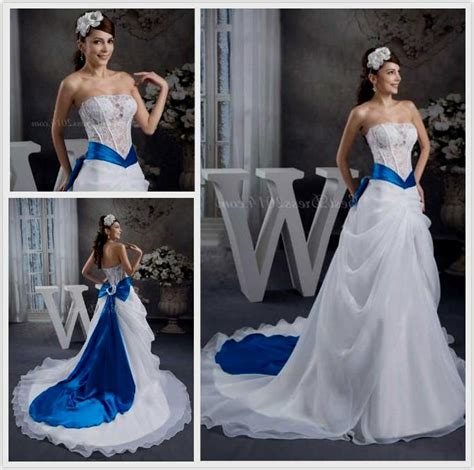 white and blue wedding dresses white and blue wedding dresses 2014 www pixshark