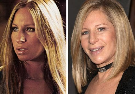 barbra streisand now women of the 70s then and now barbra streisand