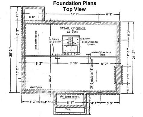 house foundation plans 50 best images about foundation details on pinterest home inspection decks and wood