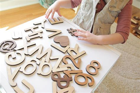 woodworking directory wooden cutout alphabet letters lowercase smiling tree