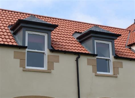 Grp Dormer eyebrow grp dormers with lead effect sides