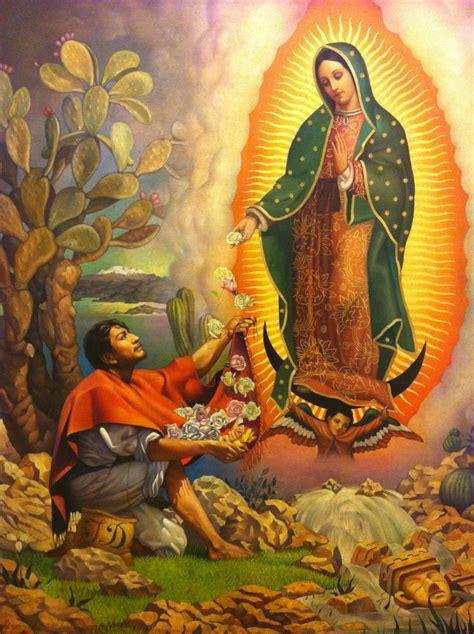 imagenes de la virgen de guadalupe con el papa juan pablo juan diego y la aparici 243 n de la virgen de guadalupe en