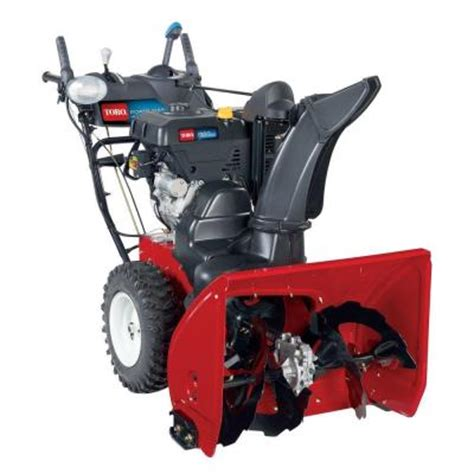 small snow blowers home depot toro power max hd 928 28 in ohxe two stage gas snow