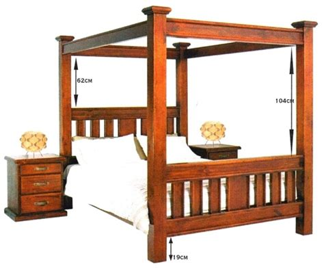 Dining Room Buffet And Hutch by New Queen Canopy Four Poster Bed Frame 1399 King 1499