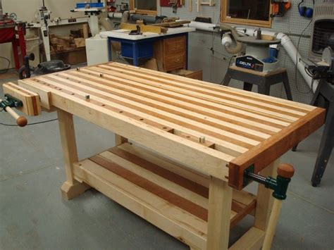 woodworkers bench plans woodworking bench finewoodworking