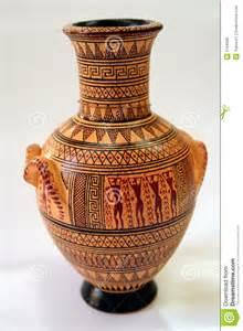 Decorative Ceramic Vases Ancient Greek Vase Royalty Free Stock Image Image 3194066