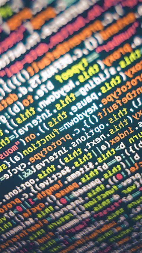 vv code screen  pattern background code wallpaper