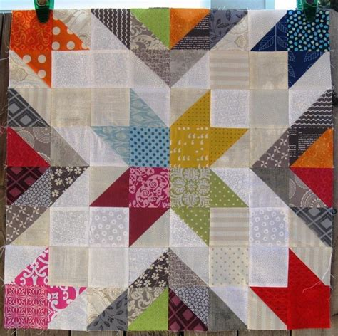 quilt pattern with different size blocks star value quilt block 5 sizes options by melissa corry